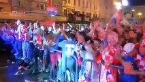 WATCH: Cheers, celebrations in Zagreb as Croatia make it to their first FIFA World Cup final.(Video: Reuters)