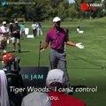 Sneak peek into Tiger Woods' British Open pep talk