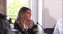 Robbie Williams Ayda Field XFactor conference 2