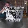 Sırtında Ronaldo yazan Real Madrid forması nasıl Juventus formasına çevrilir? İşte cevabı