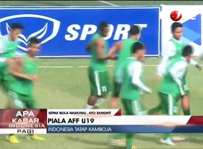 Piala AFF, Indonesia U19 Optimis Kalahkan Kamboja