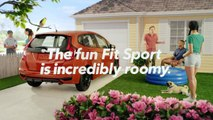 The All New 2018 Honda Fit - The Fun Fit Sport Is Incredibly Roomy | Honda Fit Commercial AD