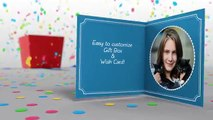 Gift Box & Wish Card | After Effects Template | Project Files - Videohive