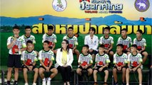 Thai Boys Rescued From Cave Make First Public Appearance