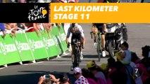 Last kilometer / Flamme rouge - Étape 11 / Stage 11 - Tour de France 2018