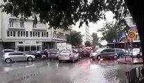 Προβλήματα στη Θεσσαλονίκη λόγω βροχής - Voria.gr