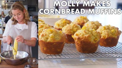 How to Make Cornbread Muffins with Honey Butter