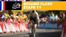 Résumé Flash - Étape 11 - Tour de France 2018