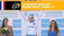 La minute Maillot Blanc Krys - Étape 11 - Tour de France 2018