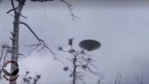 URGENTE! OVNI nitido filmado durante o dia Julho de 2018 UFO gravado no Alaska de forma clara OVNIs UFOs