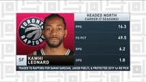 Tiki and Tierney: Spurs trade Kawhi Leonard to the Raptors