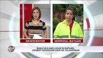 Matapos humupa ang baha, nadadaanan na ngayon ang bahagi ng McArthur Highway sa Barangay Ibayo sa Marilao, Bulacan. Narito ang ulat ni Ernie Manio. #FloodPatrol