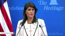 Nikki Haley: 'The Human Rights Council Is The United Nations' Greatest Failure'