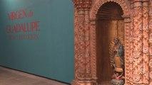Exhibición de la Virgen de Guadalupe muestra diversidad mexicana
