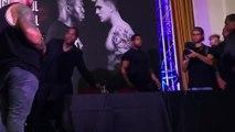 why Logan Paul left the press conference.. [KSI vs Logan Paul]