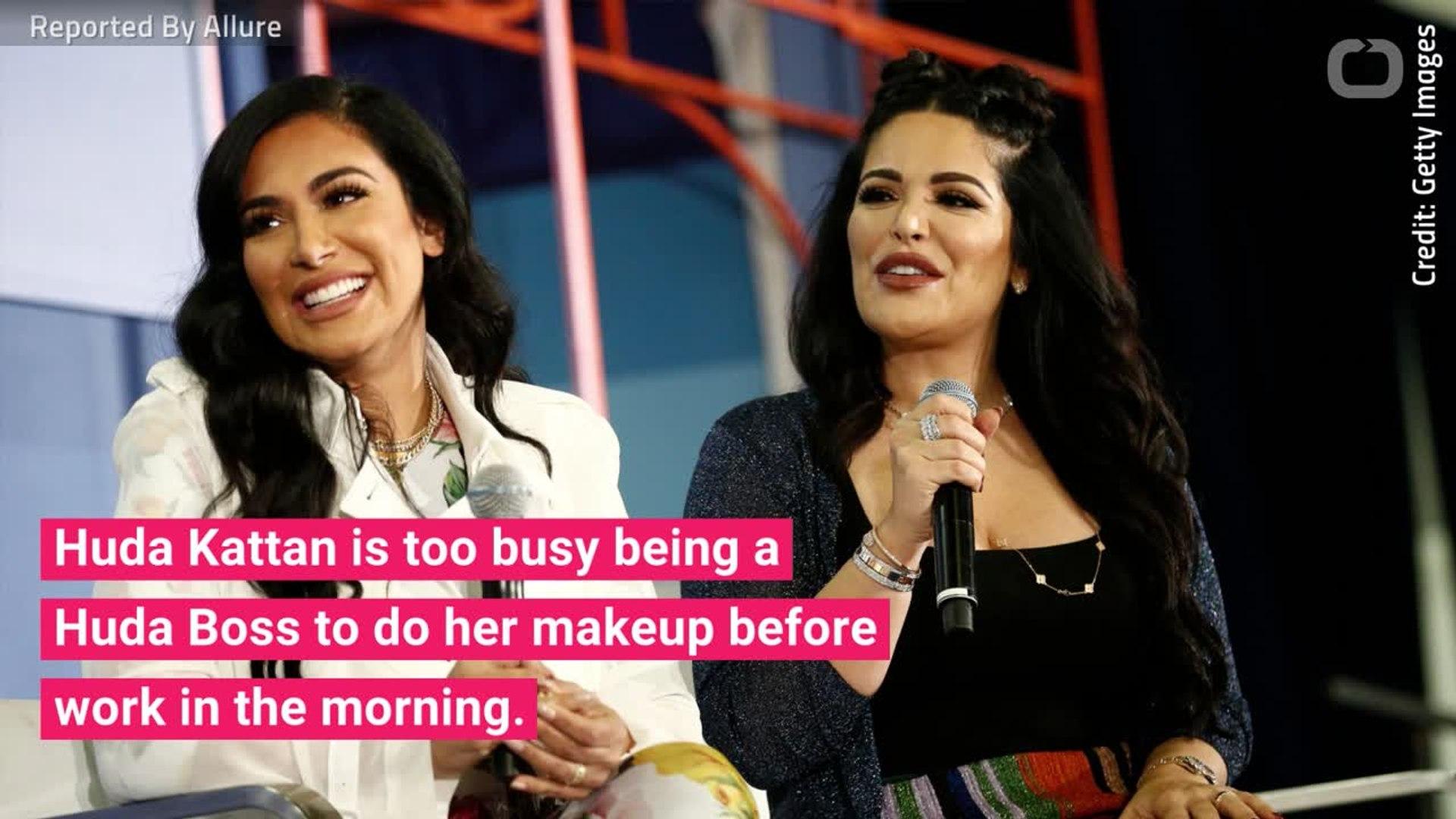 Huda Kattan Announces Elevator Makeup Challenge