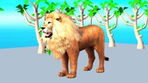 EASY WAY TO LEARN COLORS || KIDS COLORS WORLD || LION HORSE COW DONKEY COLORS || LEARN COLORS FOR KIDS