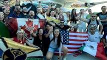 Tomorrowland 2018 : Les festivaliers débarquent en Belgique à bord de l'avion thématique