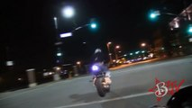 STREET BALLIN Police Chase Street Bike Wheelies Motorcycle Stunts Drifting Gymkhana Drift Video