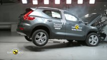 Volvo XC40 erhält fünf Sterne im Euro NCAP Crashtest