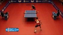 Un échange surréaliste au tennis de table prend une tournure géniale