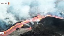 New USGS Video Shows Hawaii Lava Moving At 13-16 MPH