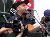 The Nightwatchman Union Song WGA Writers Strike at Fox Plaza