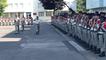 Passation de commandement au 11e régiment d'artillerie de Marine