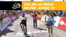 Steven Kruijswijk au sommet / on top Col de la Croix-de-Fer - Étape 12 / Stage 12 - Tour de France 2018
