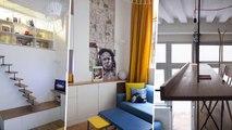 Un pied-à-terre de 30 m² avec une mezzanine ingénieuse