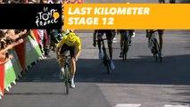 Last kilometer / Flamme rouge - Étape 12 / Stage 12 - Tour de France 2018