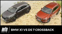 BMW X1 vs DS 7 Crossback : Premium qui peut…