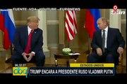 EEUU: Donald Trump encara a presidente de Rusia Vladimir Putin