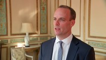 Dominic Raab discusses his meeting with Michel Barnier
