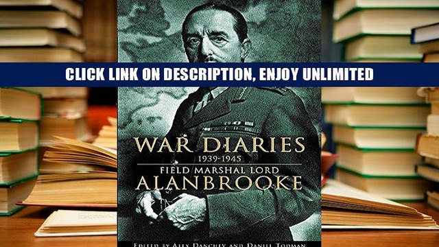Digital Book War Diaries 1939-1945: Field Marshal Lord Alanbrooke Unlimited acces Best Sellers