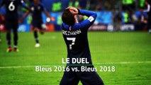 Bleus 2016 vs. Bleus 2018, le duel des finalistes