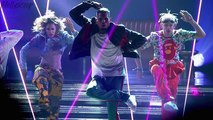 Chris Brown Has ADORABLE Moment As Little Boy FAINTS On Stage!