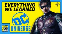 Comic-Con 2018: Everything We Learned About DC Universe
