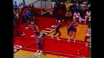 Michael Jordan - vs Pistons 1985.02.12 Rookie MJ, 49 Pts Must Watch!