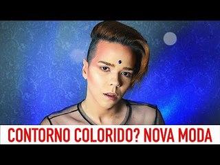 CONTORNO COLORIDO! / Maquiagem Por Kassyano Lopez