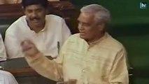 Watch: Atal Bihari Vajpayee's speech before the no-confidence vote in 1996