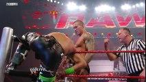 Raw- Shawn Michaels vs. Randy Orton - Elimination Chamber