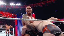 Roman Reigns, Sheamus & Rob Van Dam vs. Randy Orton & RybAxel- Raw, Aug. 18, 2014