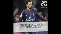 Neymar annonce qu'il reste au PSG