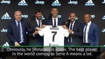 Ronaldo will raise the level of Serie A - Mia Hamm