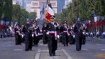 Défilé du 14 juillet : les élèves commissaires et officiers représentent fièrement l'ENSP