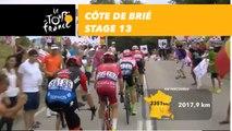 Côte de Brié - Étape 13 / Stage 13 - Tour de France 2018