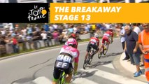 The first breakaway of this Tour without any French rider in it - Étape 13 / Stage 13 - Tour de France 2018