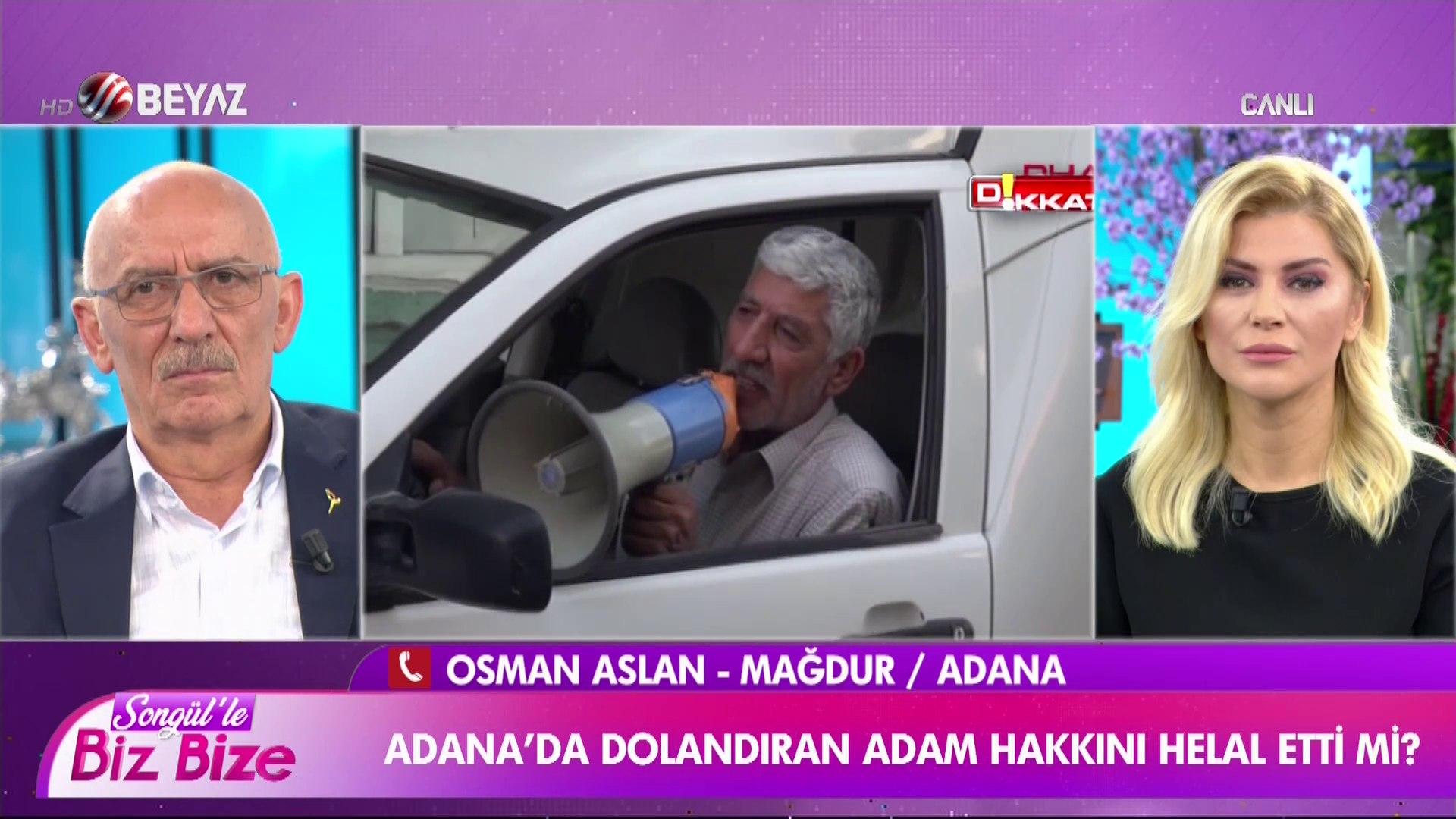 Adana'da dolandırıcısını ifşa eden adam canlı yayına bağlandı
