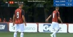 Suso Goal HD - AC Milan (Ita) 1-0 Novara (Ita) 20.07.2018